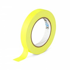 Fluorescent gaffer tape LE MARK PRO-GAFFER™ FLUORESCENT 19mm x 23m Yellow (PROGAFF19NYE)