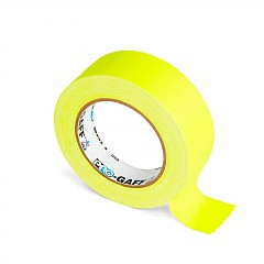 Fluorescent gaffer tape LE MARK PRO-GAFFER™ FLUORESCENT 48mm x 23m Yellow (PROGAFF48NYE)