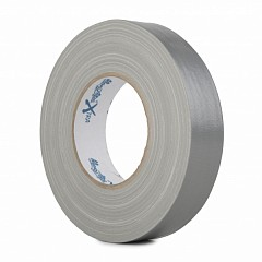 Gloss gaffer tape LE MARK MAGTAPE™ XTRA GLOSS 25mm x 50m Silver (CTME25S)