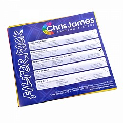 "Chris James ""Tungsten/Daylight"" filters pack"