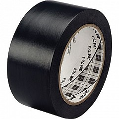 Marking PVC tape 3M Scotch 764 50mm х 33m Black (0764-BK-50-33,0)