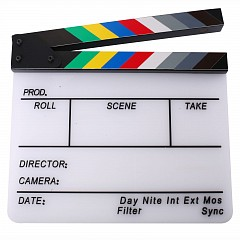 Clapper board MLux KT-0109 White Colorful