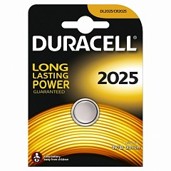 Батарейка Duracell CR2025 (DL2025) 1 шт.