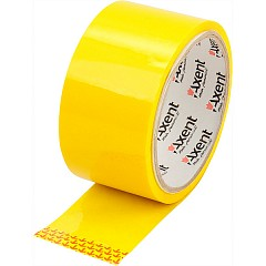 Packing tape AXENT 48mm х 35m Yellow (3044-08-A)