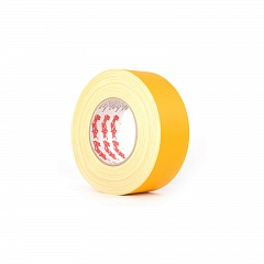 Matt gaffer tape LE MARK MAGTAPE™ MATT 500+ 25mm x 50m Yellow (CT50025Y)