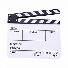 Clapper Board MLux CB-002/1 White