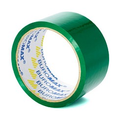 Packing tape BUROMAX 48mm х 35m Green (BM.7007-04)
