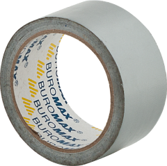 Packing tape BUROMAX 48mm х 10m Silver (BM.7575-24)