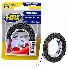 Acrylic tape HPX Car Mount 12mm x 2m Black (ZC0023)