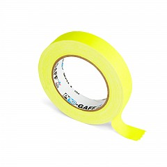 Fluorescent gaffer tape LE MARK PRO-GAFFER™ FLUORESCENT 24mm x 23m Yellow (PROGAFF24NYE)