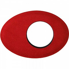 Eyecushion BLUESTAR 6013 Oval Long Microfiber Red