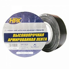 Repair tape HPX 6200 19mm x 10m Black (CB1910)