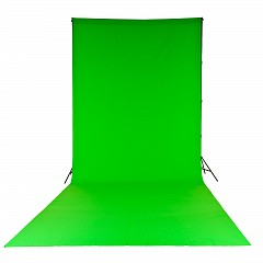 Фон LASTOLITE LL LC5881 Chromakey Curtain 3x7m Green