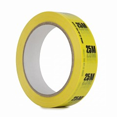 Cable ID tape LE MARK Identi-Tak 24mm x 33m Yellow (IDT25Y25)