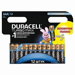 Duracell AAA (LR03-12 Turbo) batteries 12 pcs