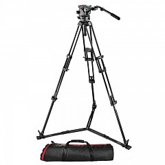 Штатив MANFROTTO 526,545BK TR545B+HD526+MBAG100PN
