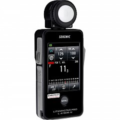 Flushmeter SEKONIC L-478DR-EL LiteMaster Pro (with Elinchrom Skyport radio built-in) CE version