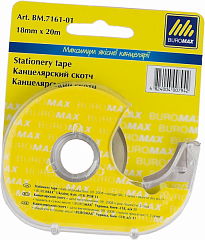 Stationery tape BUROMAX 18mm х 20m Transparent (BM.7161-01)