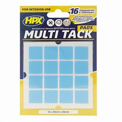 Mounting pads HPX Multi Tack Transparent (MTT2020SQ)