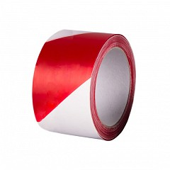 Warning tape HPX Barrier Tape 70mm x 200m Red, White (B70200)