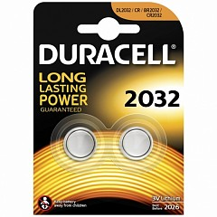 Батарейки Duracell CR2032 (DL2032-2) 2 шт.