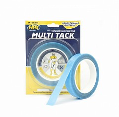 Repair tape HPX Multi Tack 19mm x 5m Transparent (MTT1905)