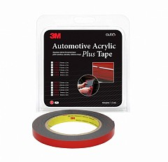 Double-sided acrylic tape 3M Scotch 70318 6mm х 5m Black (70318)