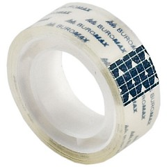 Stationery tape BUROMAX 15mm х 10m Transparent 10pcs (BM.7130-01)
